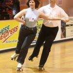 Jaci Zimmereman Charbonneau & Bill Davis showing their style in Carlos Tango.