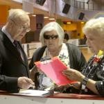 """The Judges"" Carl Henderson, Gaile Gilmartin Smith, Gladys Werner. Carl wrote the dance, guess he was a tough judge."