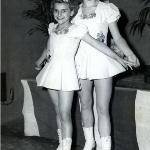 Carol Gummper & Margie Adair 1951 Nationals