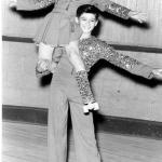 Barbara Searles & Billy Ferraro 1952 Junior Pairs Champions