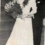 Mary Petronchak & Andy Lisovsky soon to be Mr. & Mrs. and a career of coaching at Paramus Arena, N.J. - Here they are attending a 1946 Victory Ball for NJ Senior Dance Champions
