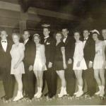 1946-47 Inter-Club Finals - Bergenfield skaters entered Feb. 1947
