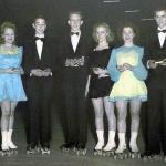 "1st - Jean Ackerman & Charles Irwin 2nd - Mary Louise Leahy & Jude Cull 3rd - ""Torchy Gargano"" & Rod Hackett Perty Amboy 1946 - Inter-Club Finals"