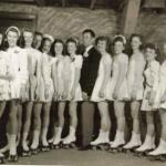Vic Shankey and the 'girls' of his 13 NJ Novice Dance Teams 1947 Bergenfield