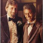 L - Mike Norbutt 1982 California Wedding R - Bestman Jim Richardson